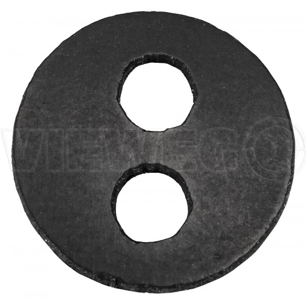 Flat gasket for mixing tube adapter