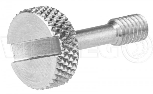 Locking screw for door